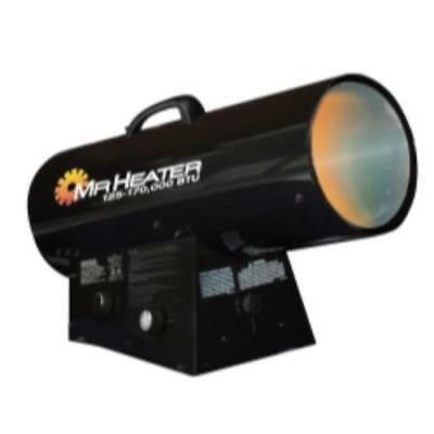 Mr. Heater, Inc. F271400 Qbt Forced Air Propane Heater, 125-170,000 Btu/hr.