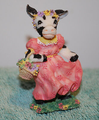 Cowtown DAISY MOO by Ganz resin cow figure old store stock CT 006