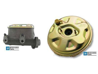 Chevelle Nova Delco Moraine Stamped Power Disc Brake Booster Master Cylinder