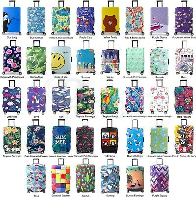 Periea Elastic Suitcase Luggage Cover Case 28 Designs Travel Holiday Protection