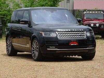 2016 Land Rover Range Rover  2016 Land Rover Supercharged LWB