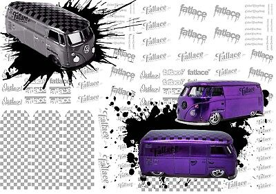 Fatlace Decals | Waterslide Transfers for Hot Wheels and all Scale Model Cars
