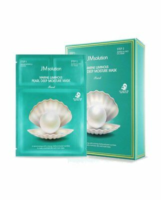 JM SOLUTION Marine Luminous Pearl Deep Moisture Mask (10piece)