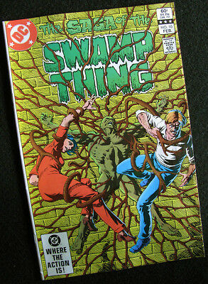 Swamp Thing 10 (1983) High Grade Book! Lots Of Large Photos! Check It Out! Nm-