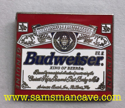 Budweiser Label Pin