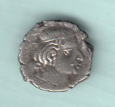 India 2000 Years Old Extremely RARE Western Kshatrapas Silver Ancient Coin 193