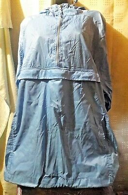 Champs Hooded Wind and Rain Jacket Light Blue Size XXL