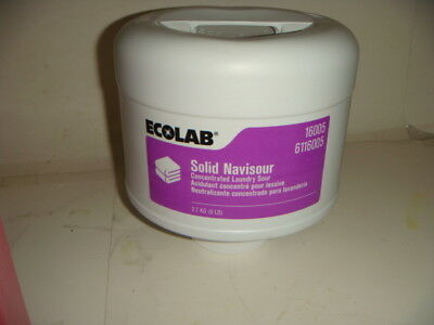 Ecolab Solid Navisour Concentrated Laundry Sour 6116005 6 LB