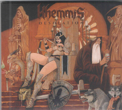 KHEMMIS - Desolation RARE COLLECTOR'S CD! SEALED! FREE SHIPPING!