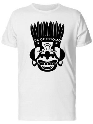 Cool Tribal Mask, Ancient Men's Tee -Image by Shutterstock