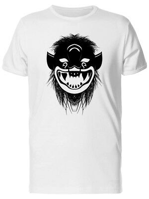 Tribal Mask Of An Ancient Demon Men's Tee -Image by Shutterstock