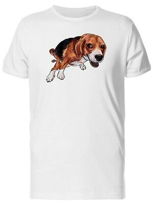 Cute Beagle, Lovely Dog Men's Tee -Image by Shutterstock