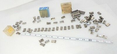 LOT 70 pieces approx die chaser cutters assrt small sizes for geometric die Head