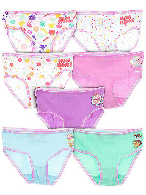 Num Noms 7-Pack Briefs for Girls Size 6