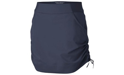NWT Columbia Women's Anytime Casual Skort Size XS Blue UPF 50 Active Fit Stretch