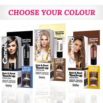 4ab0c51e10c Delia Cameleo Hair Touch-Up Stick | Roots & Gray Hair Mascara Instant  Colourant