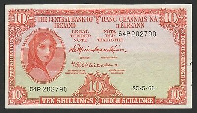 10 Shillings From Irland 1966