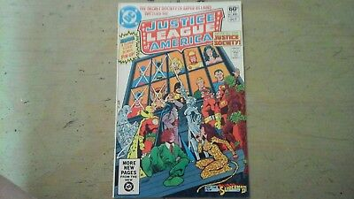 Justice league 195 of America 1981 Classic  Cover