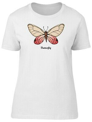 Ladies Butterfly Insect Flying Beautiful Women Butterfly T-Shirts 11151L5