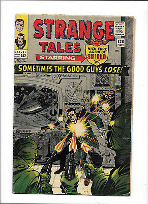 Strange Tales #138 [1965 Pr] Ad Pages Out--Story Complete!