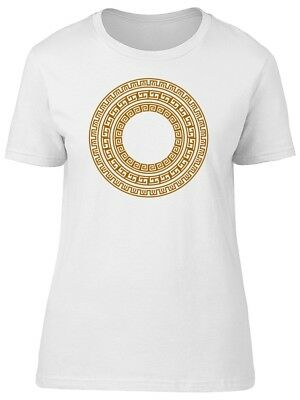 Ancient Golden Greek Ornament Women's Tee -Image by Shutterstock