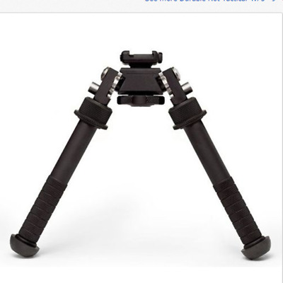 Outdoor Portable Tactical 4.75-9.0'' QD Picatinny RIS Rail Mounts Bipod Foldable