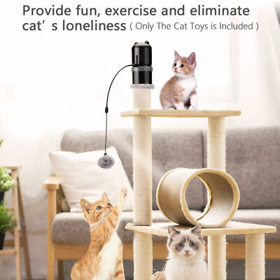 Pet Cat Toys Automatic Laser Topper Electronic Motion Cat For Scratching Post