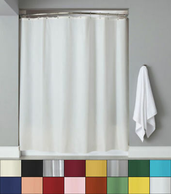 Brand New Solid 1 Pc Water Repellent Bathroom Shower Curtain Liner Vinyl