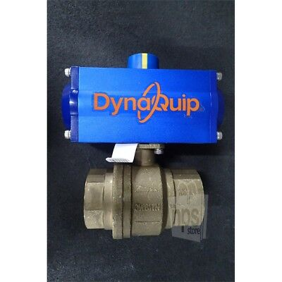DynaQuip 315008B.02 2in Double Acting Pneumatic Actuated Ball Valve