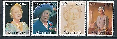 Maldive Is 1995 Queen Mother 95th Birthday 4v SG 2274/7 MNH