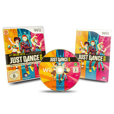 Nintendo Wii Game Just Dance 2014 in original package with Guide