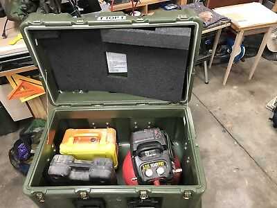 HardiggPelican Military Large Transport Storage Tool Case Box 32 x 20 x 21crate