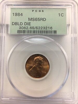 1984 Lincoln Memorial Cent Doubled Die Doubled Ear Variety. PCGS MS 65 Red $$$$$