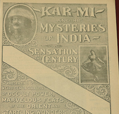 KAR MI AND His Mysteries of India (Rare/OOP) - Other - Magic Tricks