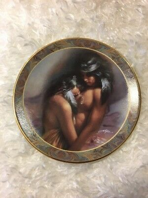 Warm Interlude by Lee Bogle 16th Issue In The Native Beauty Mini-Plate Collect..