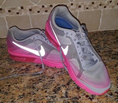 fa47309496 NIKE AIR MAX Sequent Running Shoes Pink Gray Size Womens 8 EUR 40 - $31.00  | PicClick