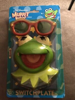 Extremely Rare Vintage Muppet Babies Kermit Switch plate Only One On EBay