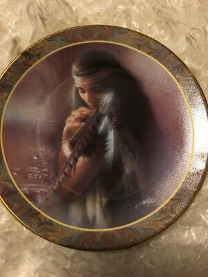 Stirrings Of The Heart by Lee Bogle 16th Issue In The Native Beauty Mini-Plate C
