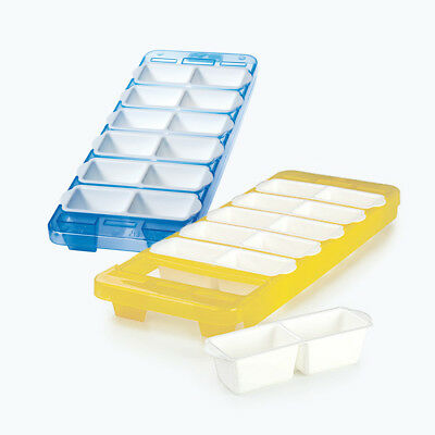 Snips Ice Cube Maker w/ Removable Trays - Ice Cube Mould - Made in Italy
