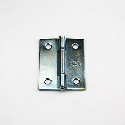 Steel Butt Hinge - 50x32mm - Zinc Plated - Pack of 20 hinges   (HINLC050ZP)