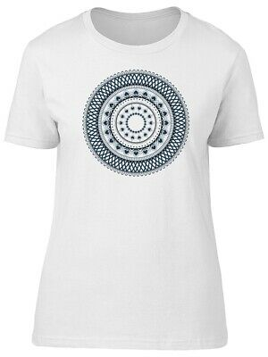 Vintage Mandala Abstract Pattern Women's Tee -Image by Shutterstock