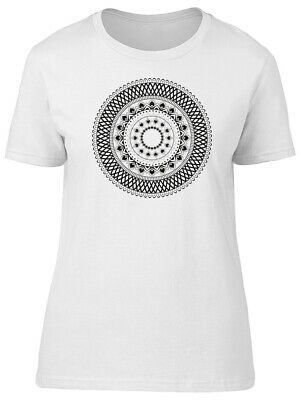 Cool Abstract Tribal Mandala Women's Tee -Image by Shutterstock