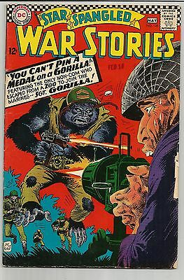Star Spangled War Stories #126 (Apr-May 1966, DC) Respectable Shape