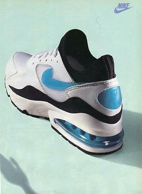 Vintage Print Ad For Nike Air Max Shoes-Rare Ad Nike Air Max Ready To Frame!