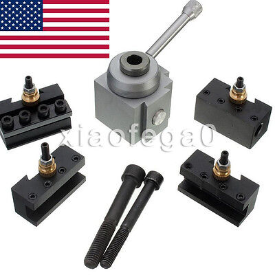 New Lathes Tools Mini Quick Change Tool Post Holder for 7 x10 12 14 Toolholder