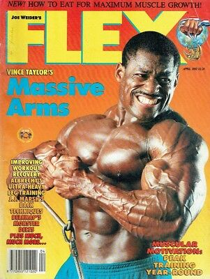 Flex,Bodybuilding Magazine,April1992,Fitness Magazine