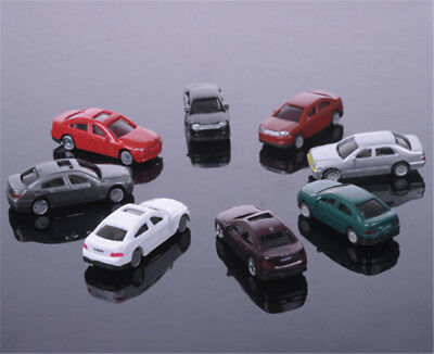 10pcs 1:200 Sand Table Model Plastic Model Car for Building Train Layout Toys WL