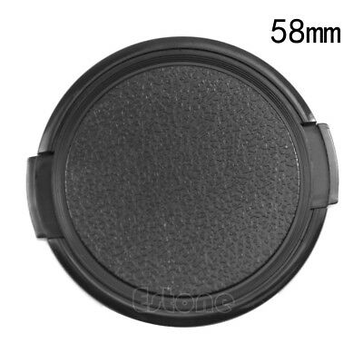 Snap on Normal Front Cap For All 58mm Nikon/Canon/Sony Pentax Olympus DSLR SLR