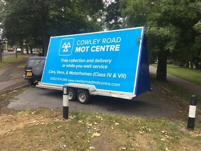 Advertising trailer / Mobile Bill Board 2.5m x 5m