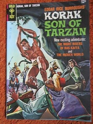 Korak Son of Tarzan Gold Key comic by Edgar Rice Burroughs no. 13 June 1966 VF